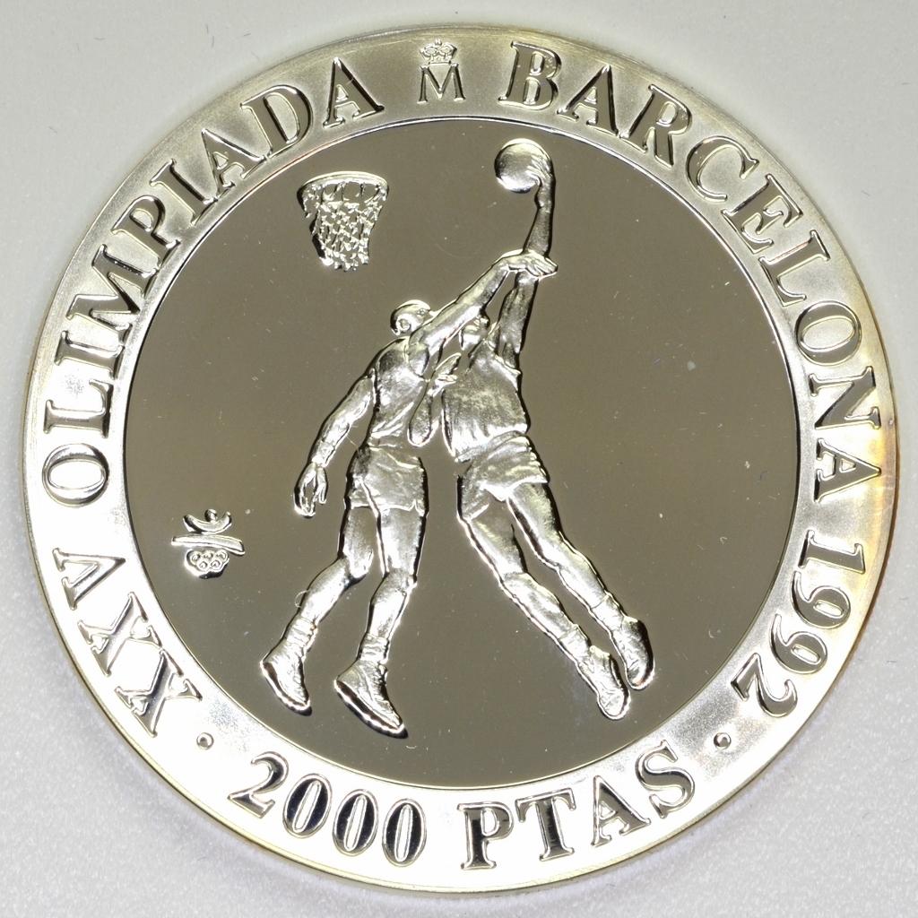 Olympic Games 1992 - Spain - 2000 Pesetas