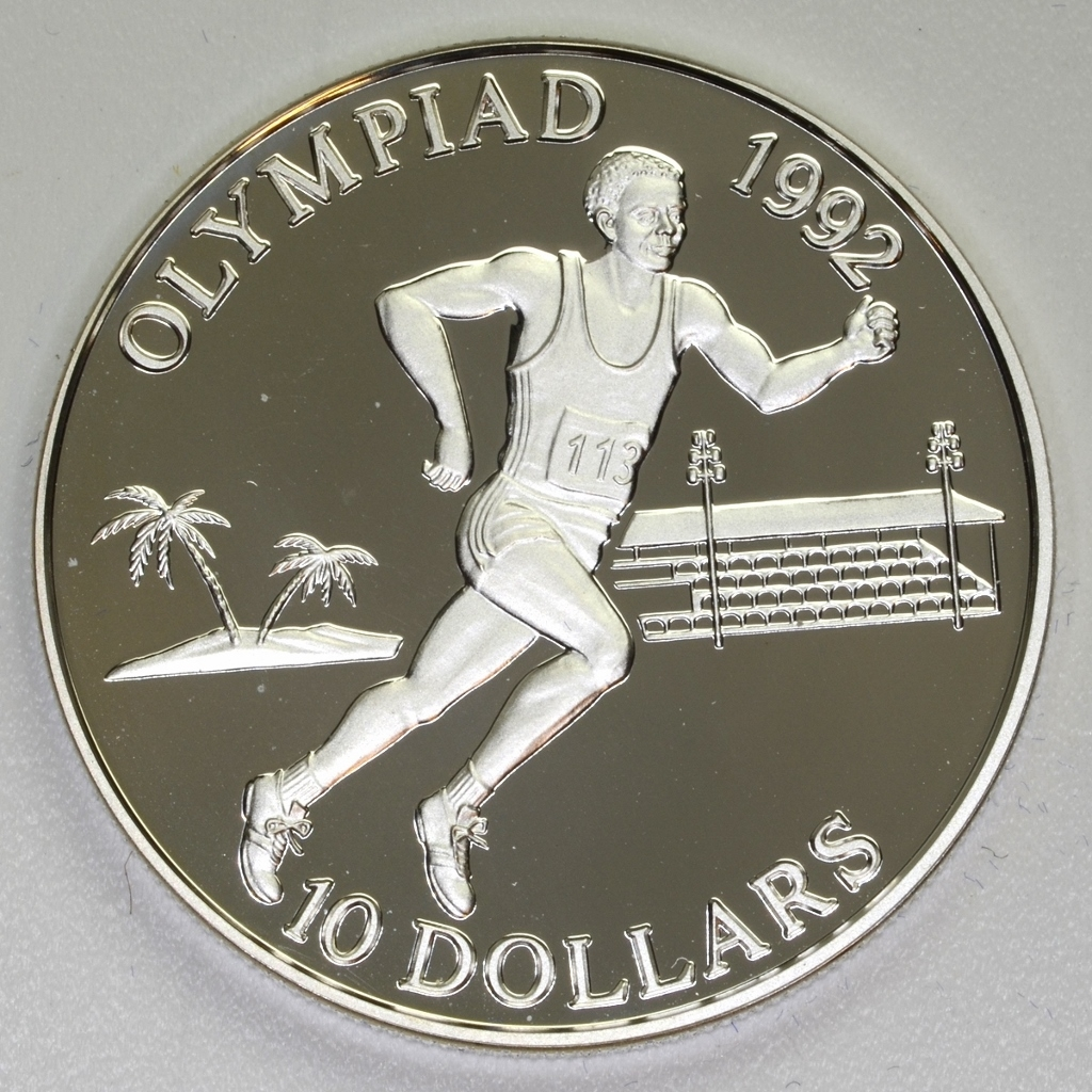 Olympic Games 1992 - Solomon Islands - 10 Dollars