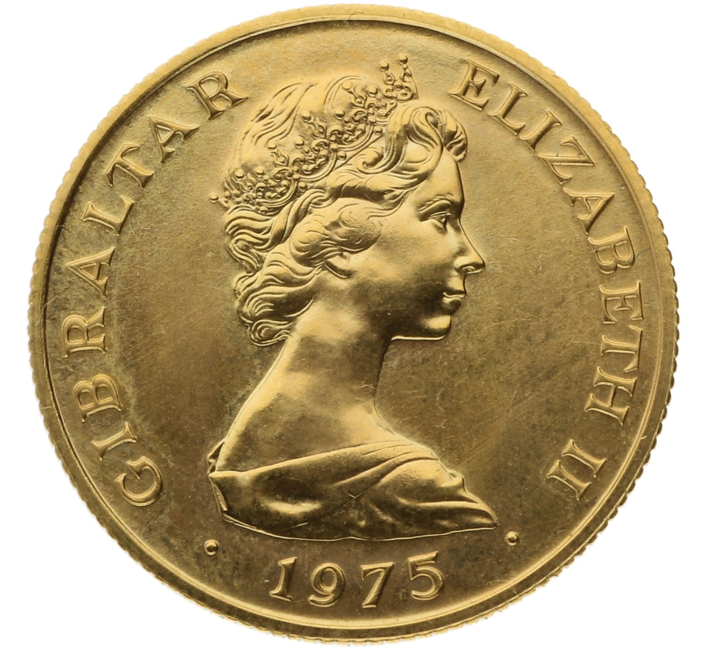 50 Pounds - Gibraltar - 1975