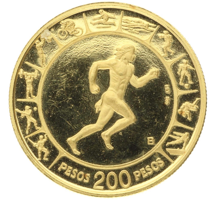 200 Pesos - Columbia - 1971