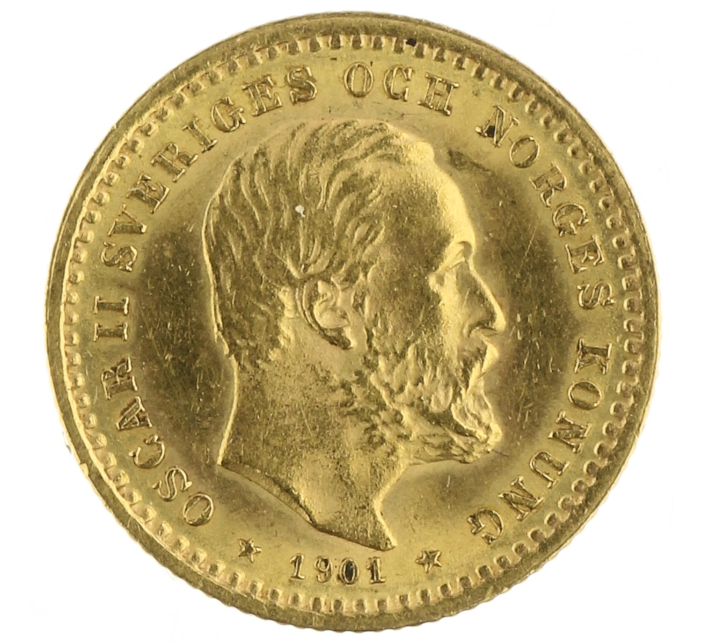 5 Kronor - Sweden - 1901