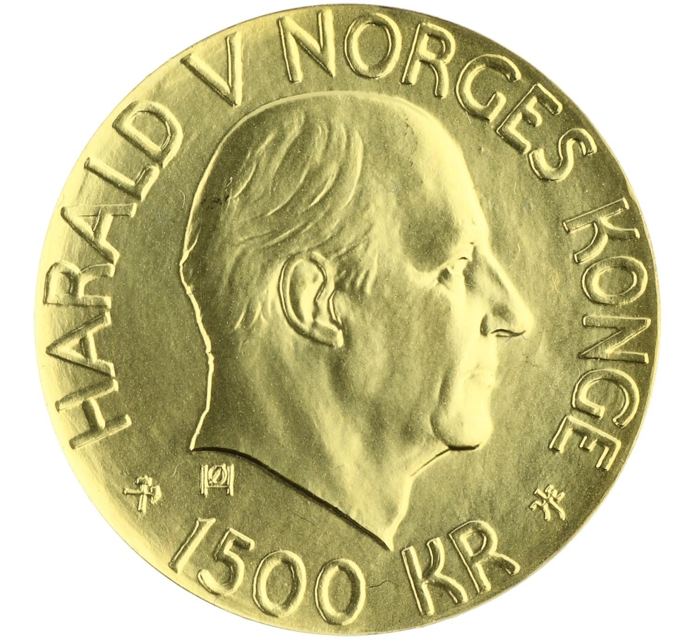 1500 Kroner - Norway - 2001