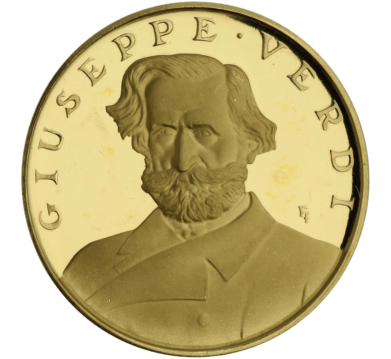 Medal (Giuseppe Verdi) - Italy - 1963