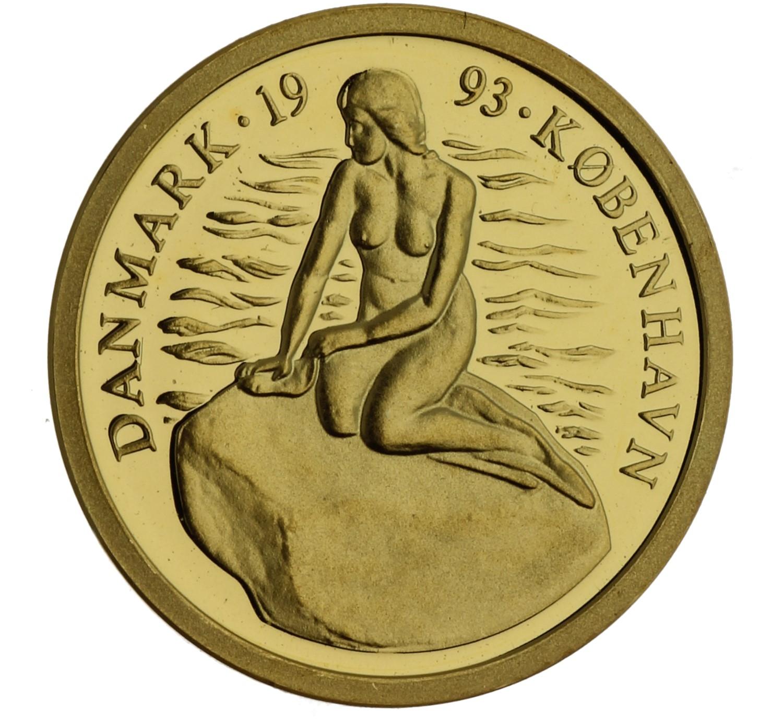 1 Ecu - Denmark - 1993