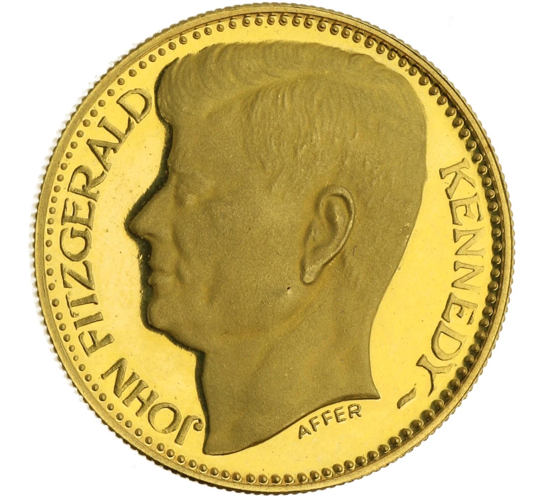 Medal (JFK / Liberty) - Italy - 1983