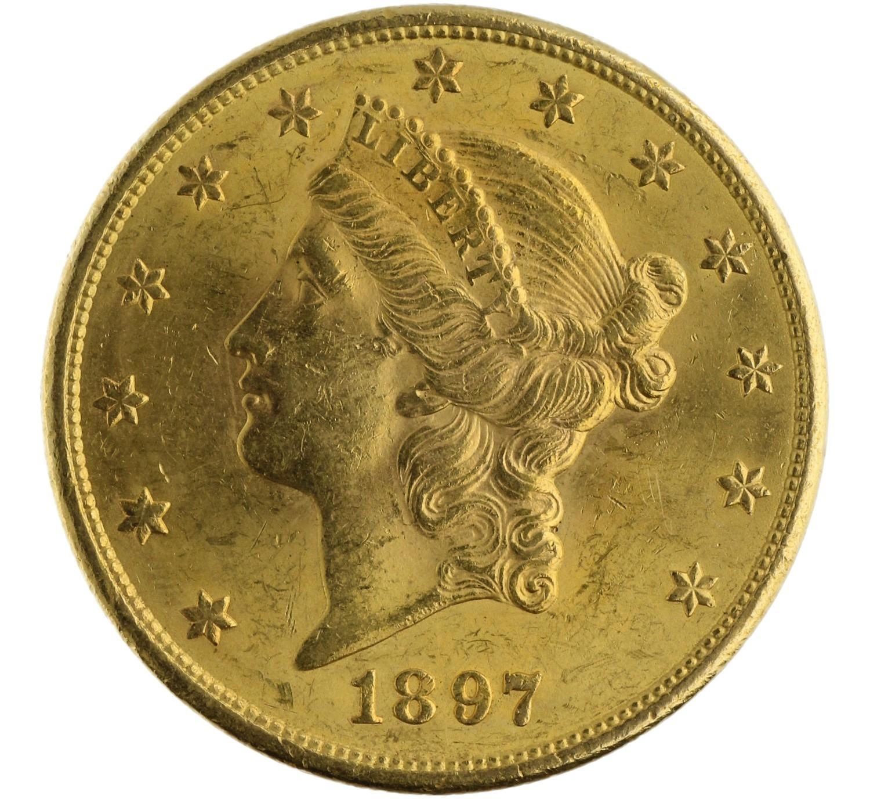 20 Dollars - USA - 1897 S