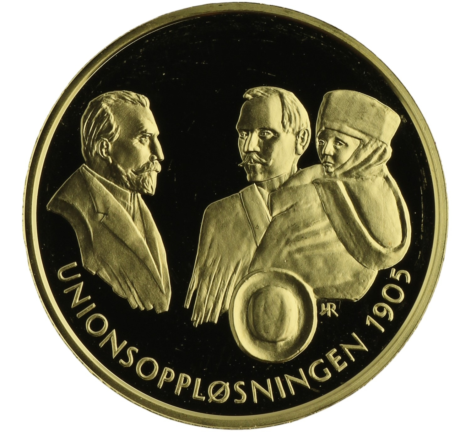 Medal (Dissolution of the Union) - Norway - c. 1998