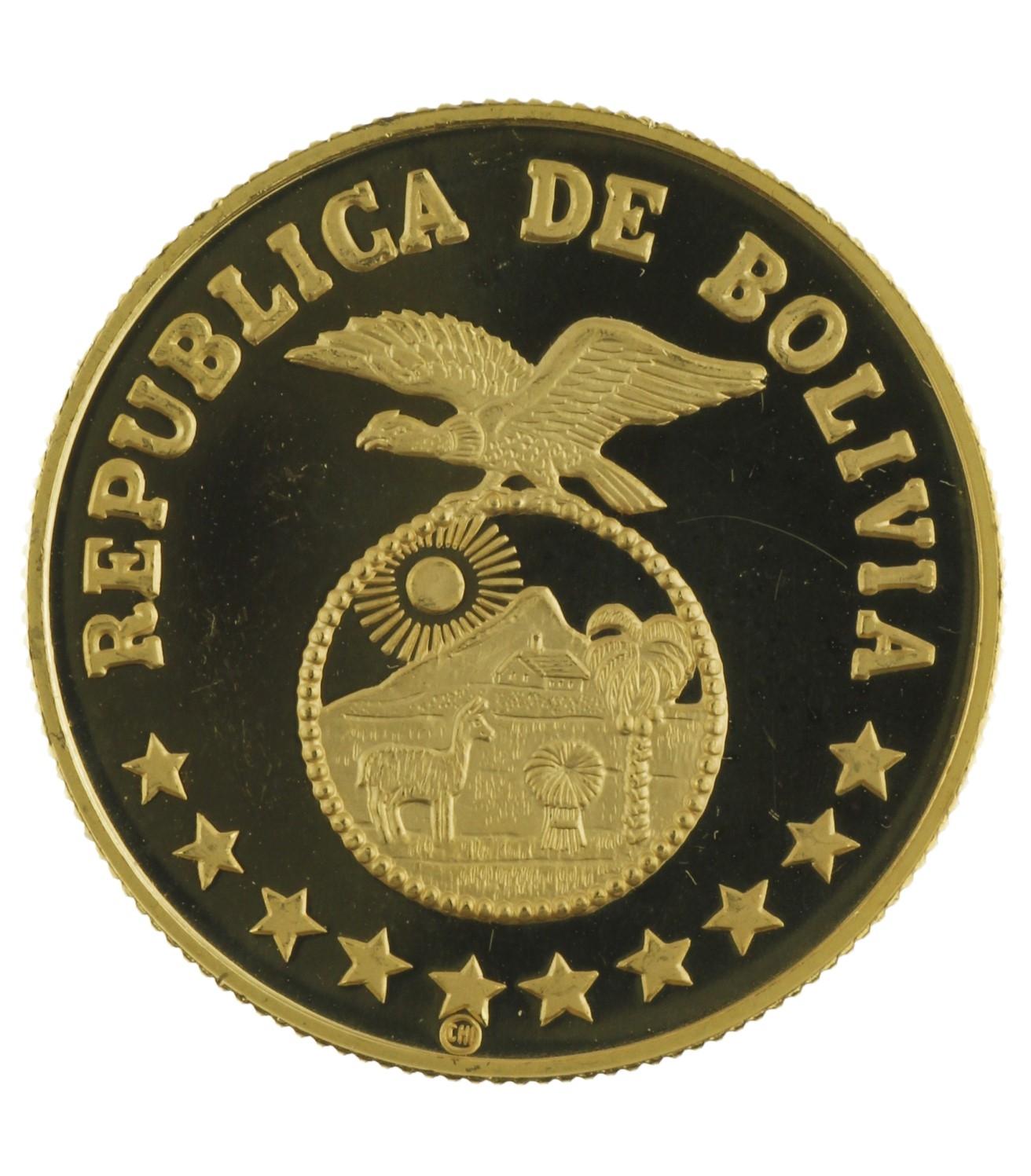 4000 Pesos - Bolivia - 1979