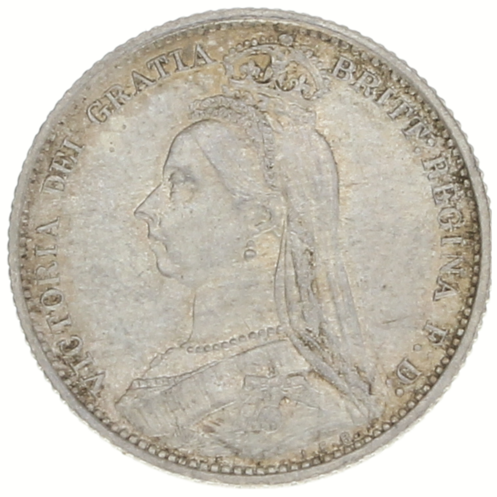Great Britain, 6 pence, 1887