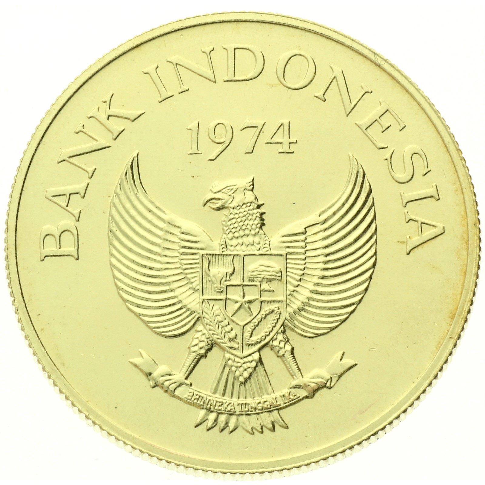 Indonesia - 100000 rupiah - 1974 - Komodo Dragon